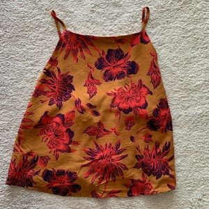 Beautiful floral summer top